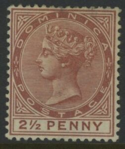 DOMINICA, MINT, #6, NG, INVERTED WMK, GREAT CENTERING