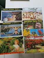 Queensland Collection of 6 Vintage Foldout postcards