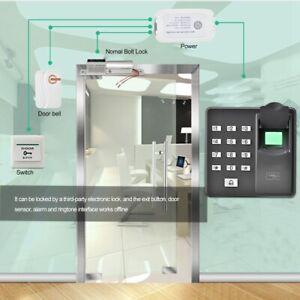 RFID Zugangskontrolle Fingerabdruck Türöffner Passwort Codeschloss Card Reader