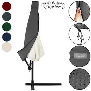 Housse de protection pour parasol -  Ø 3 ou 3,5m - Coloris et taille au choix