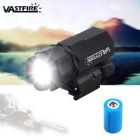 5000Lm Tactical R5 LED Gun Rifle Shotgun Flashlight Mount Hunting Light Torch