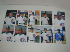 1994 IOWA CUBS MINOR LEAGUE BASEBALL PHOTO COLLECTION LOT OF 30
