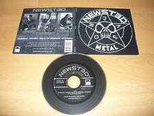 NEWSTED - Metal 2013 Mega Rare Hard Rock/Thrash Metal 4 Tracks EP (METALLICA)