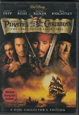 """ Pirates Of The Caribbean- Curse Of The Black Pearl "" - lightly Used DVD"