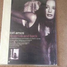 Huge Rare Tori Amos To Venus & Back Album Promo Pop Music Poster Memorabilia