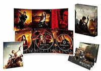 Resident Evil The Final Chapter Premium 3D Limited Edition 3 Blu-ray F/S wTrack#