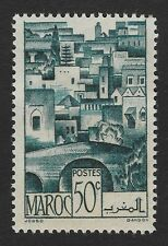 1947 Morocco - Views Of The City - Sepia 50 C Stamp (BX6)..