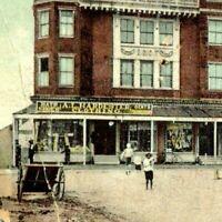1911 CRISFIELD MARYLAND Opera House A.L. Hardester Store Postcard KN