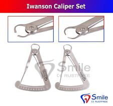 Crown Caliper Gauge Wax & Metal Iwanson Dental Lab Technician Tools Smile UK
