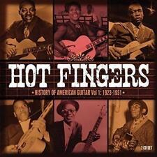 Hot Fingers - History Of American Guitar Vol.1: 1923-1951 - Various Ar (NEW 2CD)