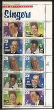 UNITED STATES 1994, MUSIC: POPULAR SINGERS , AMERICAN MUSIC, Scott 2853a - PAIR