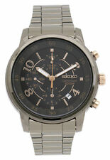 Seiko Silver Plated Band Men's Wristwatches
