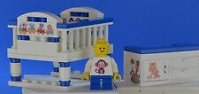 LEGO blue large, changing cot christening cake topper baby shower