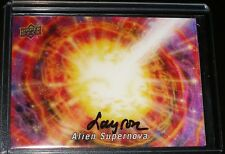 2017 Goodwin Layron Auto 3D U-41 Wonder of the Universe Alien SUPERNOVA Tier 6