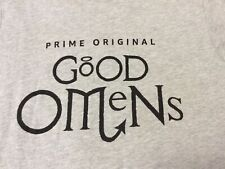 Good Omens Amazon Prime Video TV Promotional Promo T-Shirt Sz S 34