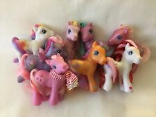My Little Pony G3 Lot of 8 #36 Sew-and-so Sunny Daze Sunshower Golden Delicious