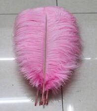 Wholesale 10-100pcs natural male ostrich feathers 30-35cm/12-14inch Large fluff