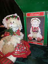 House of Lloyd Christmas Around The World Porcelain Flossie Doll Bunny