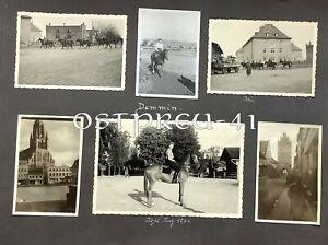 112/Orig. 12x Gestüt Pferde Pommern Demmin Kaserne Meck-Pomm Bereiterinnen 2.WK