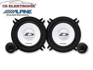 "ALPINE SXE-1350S 5-1/4"" (13cm) Component 2-Way Speaker SET FOR CAR AUDIO"
