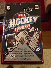 1990-91 Upper Deck Low Number Hockey Box