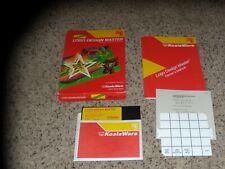 Logo Design Master Commodore 64 program with manual & box