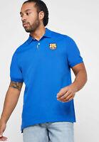 Nike Fc Barcelona Dri Fit Polo Herren T-Shirt Hemd AT4329-485 Trikot Fussball S