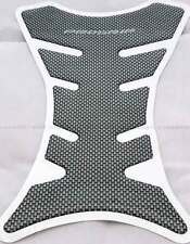Motorcycle Bike Carbon Fiber  Look Fuel Tank Pad Sticker Protector Fish Bone UK