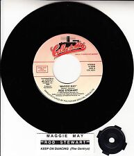 """ROD STEWART  Maggie May & THE GENTRYS Keep On Dancing 7"""" 45 rpm record NEW RARE!"""