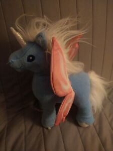2003 Neopets Faerie UNI Unicorn Plush Talking TESTED - Works Retired