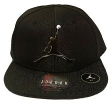 0faf1a84f19c2c NBA NIKE AIR JORDAN JUMPMAN  23 Youth 4 7 Snapback Metal Logo Hat Cap