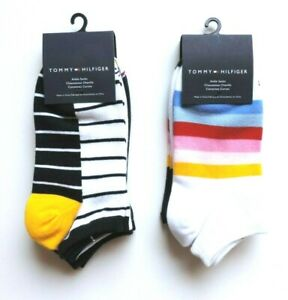 Tommy Hilfiger Women's Ankle Socks, 3-Pairs, One Size