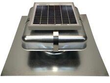 "Solar Roof Vent - Solar Attic Fan - Solar RVOblaster with ""Galvanized"" Vent"