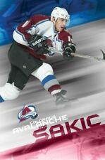 JOE SAKIC ~ FLASH ~ NHL COLORADO AVALANCHE  22x34 POSTER National Hockey League