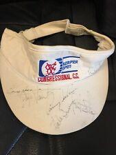 New listing Payne Stewart / Hale Irwin / Paul Strange Signed Golf Visor  Real Signed JSA