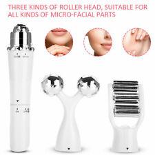 Anti Wrinkle Under Eye Chin Jaw Face Facial Toning Skin Lifting Massager x3 head