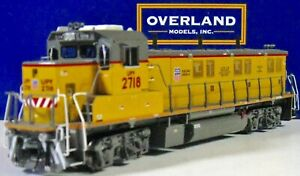 OVERLAND UNION PACIFIC 3GS21B Genset OMI AA-1352-4 HO Brass Ajin ***Excellent***