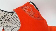 Ralph Lauren Damen Bluse M, L, XL  orange sommer  NEU