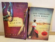 2 PB Jim Fergus Wild West Novels One Thousand White Women & The Wild Girl