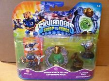 SKYLANDERS SWAP FORCE Sheep Wreck Island Adventure Pack -Wind-up, Platinum Sheep