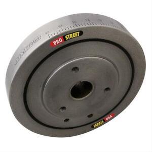 Summit 161400 Harmonic Balancer Chevy 383 400 External Balance Iron Natural SBC