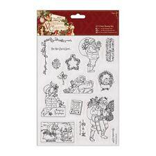Victoriano De Navidad (docrafts) - A5 Transparente Sellos Set-Santa (15 Piezas)