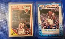 1989-90 Fleer Michael Jordan and Sticker