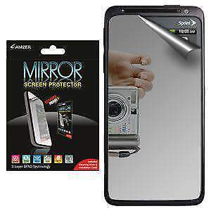 AMZER Mirror Screen Protector With Cleaning Cloth For HTC EVO Design 4G