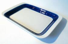 "50s Rörstrand ""Koka"" blau Platte L 36 cm ovenproof plate pottery Herta Bengtsson"