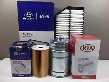 GENUINE HYUNDAI I30 GD GD2 1.6L TD ALL MODEL FILTER PACK (OIL+AIR+FUEL FILTER)