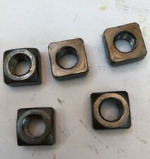 "3/8""-16 Regular Square Nuts Plain"