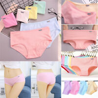 Women's Cotton Underwear Breathable Stretchy Briefs Knickers Panties Underpants