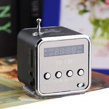 Portable Micro SD TF USB Mini Stereo Speaker Music Player FM Radio PC MP3 /4 GH