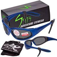 Hercules Bifocal Safety Glasses - Royal Blue Frame